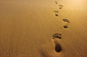 footprints-in-sand